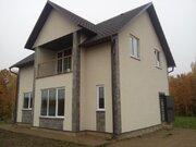 Новый блочный коттедж с Участком 16 соток рядом с озером Плещеево - Фото 1