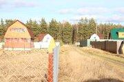 Ровный, сухой участок в ДНП Лесное - 80 км Щелковского ш. - д.Юрцово - Фото 4