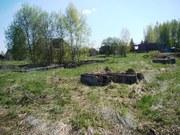 Участок с фундаментом в д.Митино - 105 км Щелковское шоссе - Фото 1