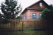 Дом д. Пушкино, озеро, баня. - Фото 1