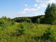 Участок срочно, 11,3 сотки. лес, ока, газ, водопровод в поселке - Фото 1