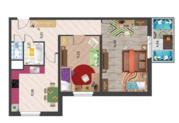 Дом сдан. Двушка 54 м2 в новом жилом комплексе бизнес-класса - Фото 2