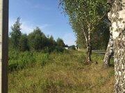 14 соток, лпх, д. Спас-Темня Чеховский р-н, лес, река, асфальт - Фото 3