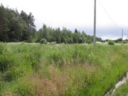 Продаётся земельный участок 21 сотка крайний к лесу в деревне - Фото 1
