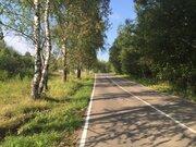 14 соток, лпх, д. Спас-Темня Чеховский р-н, лес, река, асфальт - Фото 5