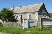 Половина кирпичного дома с капитальным гаражом в г. Чаплыгин - Фото 1
