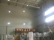 Современный склад 580 кв.м Пол шлифованный бетон, тепло. - Фото 5