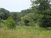 Симферопоьлкое шоссе 47 км. участок в деревне с лесными деревьями - Фото 1