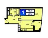 Продажа 1-к.квартиры 39 кв.м в новостройке, Ивантеевка, Хлебозаводская - Фото 2
