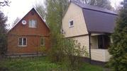 Два дачных дома с бассейном на лесном участке в 75 км от МКАД - Фото 1