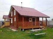 Красивый бревенчатый домик с сауной на краю деревни, ИЖС