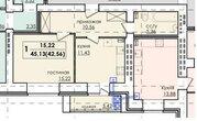 1-к на Деловой, Купить квартиру в Нижнем Новгороде по недорогой цене, ID объекта - 317327780 - Фото 2