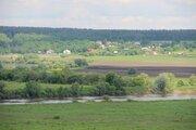 Просторный участок с видом на долину реки Оки