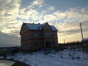 Новый дом в д Саввино 300м, 3 этажа, оформлен, чернов отд, свет газ - Фото 1