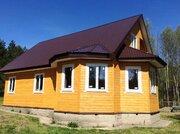 Новый дом в охраняемом и благоустроенном СНТ Киржачского района