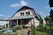 Дача из бревна 85 м2 в СНТ Родники у д. Мерчалово - Фото 1