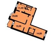 3-х к.кв, Красногорск, Красногорский б-р д.24, 9 этаж, 95 кв.м. - Фото 2