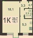 Продаю 1к.кв. ул.Белинского, общ пл 30 кв.м, 9/9эт, хороший район., Купить квартиру в Нижнем Новгороде по недорогой цене, ID объекта - 316984735 - Фото 1