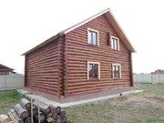 2 эт. 160 м, рубленный дом, рустик, жилой, д.Цибино. - Фото 3