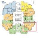 Переуступка однокомнатная квартира 40м2 метро парнас, ЖК Три Апельсина - Фото 3