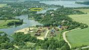 Участок 160 соток, с соснами на 1 береговой линии р.Волга, д. Терехово - Фото 1