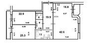 Продам 3-к квартиру, Москва г, Мичуринский проспект 6к2 - Фото 2