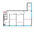 Квартира для дружной семьи по приемлемой цене - Фото 4