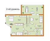 Просторная 4-х комнатная квартира в двух уровнях в Ставрополе - Фото 3