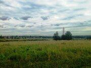 Земельный участок 12,5 соток д. Перхурово Чеховский район - Фото 1