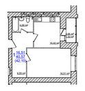 1 670 000 Руб., Купить квартиру в Жилом доме на Моховой, Купить квартиру в новостройке от застройщика в Ярославле, ID объекта - 325151262 - Фото 32