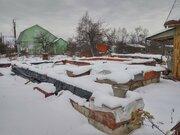 Участок с добротный фундаментом СНТ №7, Климовск, Подольск - Фото 1