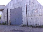 Сдам холодный ангар 550м2, подъезд фуры, кран-балка 1т - Фото 1