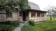 Дом 120 кв.м. в деревне с газом (прописка), 18 соток - Фото 1