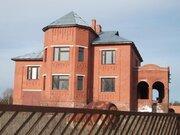 Участок 28 сот.с кирпичным домом 300м2 все коммуникации заведены в дом - Фото 1