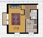 Продажа уютной 1-комн. квартиры по доступной цене - Фото 5