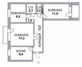 3 800 000 Руб., 3 к квартира на фмр с хорошим ремонтом, Купить квартиру в Краснодаре по недорогой цене, ID объекта - 317931981 - Фото 17