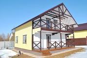 Дом для ПМЖ в деревне Воробьи, 150 м2, 10 соток, Киевское шоссе. - Фото 1