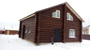 Дом из бревна в ДНП Волосово - Фото 1