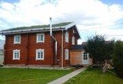 2х этажный дом из лафетного бруса 200 кв.м. по норвежской технологии - Фото 1