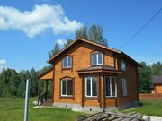 Воскресенское. Новый дом в деревне со всеми коммуникациями. 82 км от М - Фото 1