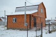 Дом ПМЖ 80 кв м село Никитское со всеми коммуникациями - Фото 1