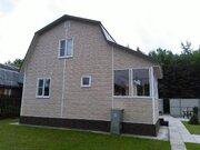 2-эт. зимний дом 80 м2 (брус) на уч. 6 сот, ст. Столбовая СНТ Осинки - Фото 2