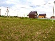 Участок под строительство жилого дома - газ, эл. столб - Санино - Фото 1