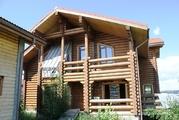 Продается большой бревенчатый дом на участке 20 соток - Фото 1