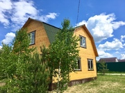 Новый дом в СНТ Лесное - дер.Юрцово - 80 км Щёлковское шоссе - Фото 2
