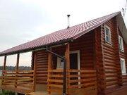 Бревенчатый дом 70 м2 на большом участке в д. Михайловское - Фото 2