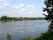 Панорамный земельный участок на берегу реки Ока в деревне Подмоклово - Фото 1
