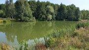 Хороший участок с газом на берегу пруда - Фото 4
