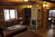 Отличный уютный дом с камином, свой участок 10 соток. Деревня. - Фото 4