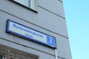 Продается 2 комнатная квартира на Велозаводской улице - Фото 1